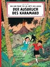 Hergé Die Abenteuer von Jo, Jette und Jocko 02. Der Ausbruch des Karamako