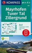 , Mayrhofen, Tuxer Tal, Zillergrund 1:25 000
