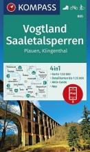 , Vogtland, Saaletalsperren, Plauen, Klingenthal 1:50 000