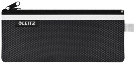 , Reisetui Leitz WOW 85x6x210mm 2 vakken zwart