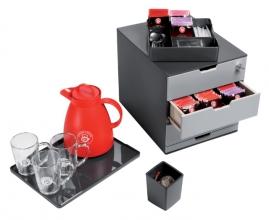 , Coffee Point Box Durable 3385-58 antraciet-lichtgrijs