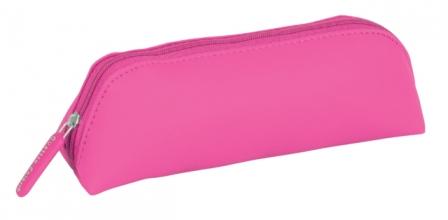 , Pennenetui Quattro Colori original driehoekig roze