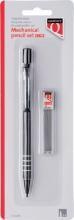 , Vulpotlood Quantore 0.5mm + koker met 12 potloodstift