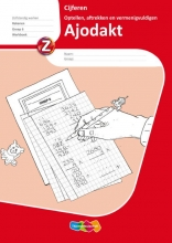 Ajodakt Cijferen set a 5 ex Groep 6 Werkboek