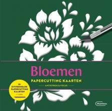 , Papercutting kaarten bloemen