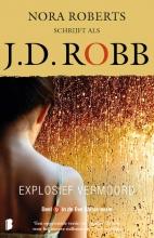 J.D. Robb , Explosief vermoord