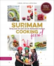 Moreen Waal Martha Waal  Aretha Waal, SuriMAM Cooking - Feest