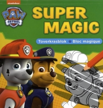 , Super magic toverkrasblok La Pat`patrouille Super Magic bloc magique