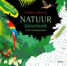 , Natuur kleurboek voor volwassenen