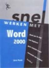 Jan Pott , Snel werken met Word 2000