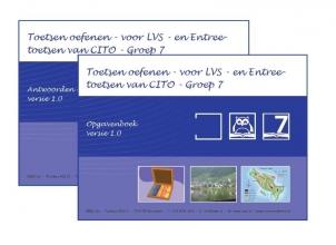 O.H.M. Sanders , Toetsen oefenen - voor LVS- en Entreetoetsen van CITO Groep 7 - versie 1.0 Opgaven en Antwoorden/uitlegboek