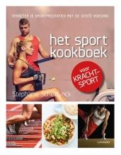 Stephanie Scheirlynck , Het sportkookboek voor krachtsport