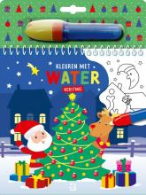 , Kleuren met water - Kerstmis