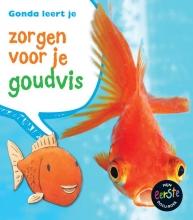 Anita  Ganeri Gonda leert je zorgen voor je goudvis