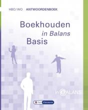 Henk  Fuchs, S.J.M. van Vlimmeren Boekhouden in Balans hbo/wo Antwoordenboek Basis