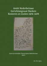 P.D. Spies , Ambt Nederbetuwe Gerichtssignaat 1476-1478