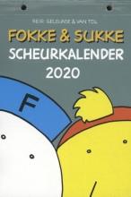 Jean-Marc van Tol John Reid  Bastiaan Geleijnse, Fokke & Sukke scheurkalender 2020