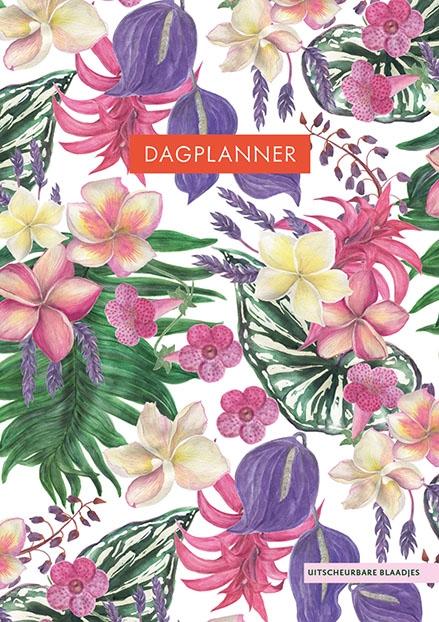 ZNU,Dagplanner - Tropical Flowers
