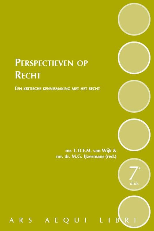 Loet van Wijk,Perspectieven op Recht - 7e druk
