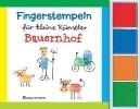Pautner, Norbert,Fingerstempeln f.kl. Künstler- Bauernhof-Set