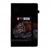,Schets-notitieboek Sakura 13x21cm zwart