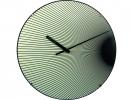 ,Wandklok NeXtime dia. 35 cm, bol glas, `Rays dome`