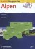 ,ANWB wegenatlas : Alpen 2016-2017