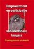 T. van Regenmortel,Empowerment en participatie van kwetsbare burgers