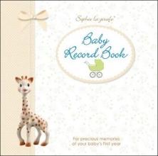 DK Sophie la girafe Baby Record Book