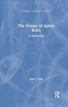 Janet Todd The Poems of Aphra Behn
