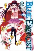 Kato, Kazue Blue Exorcist 12