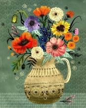 Floral Vases Art Prints