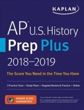 Kaplan Test Prep AP U.S. History Prep Plus 2018-2019