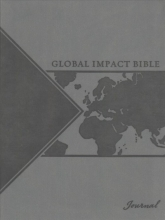 Global Impact Bible Leather Journal