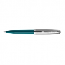 , Balpen Parker 51 Teal Blue CT M