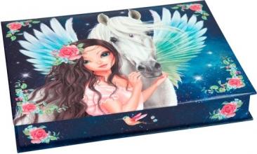3949 a Fantasymodel doos met schrijf waren blauw