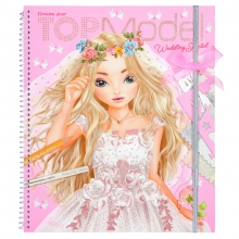 10200 a Topmodel create your wedding special colouring book