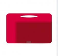 , Bureau onderleg quatro colori rood