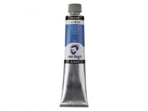 , Talens van gogh olieverf tube 200 ml ceruleumblauw 534