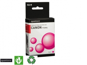 , Inktcartridge Quantore Canon CLI-8 rood+chip
