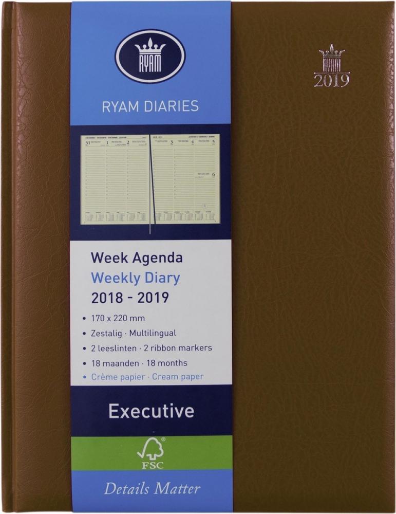 ,Ryam executive agenda 2020-2021 18 maanden 170x220 bordeauxrood