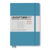 <b>Lt357843</b>,Leuchtturm agenda 2018-2019 18 maands medium  nordic blue