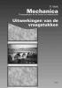 <b>, F.  Vink</b>,Mechanica, toepassingen in de bouw en waterbouw Uitwerkingen van de vraagstukken