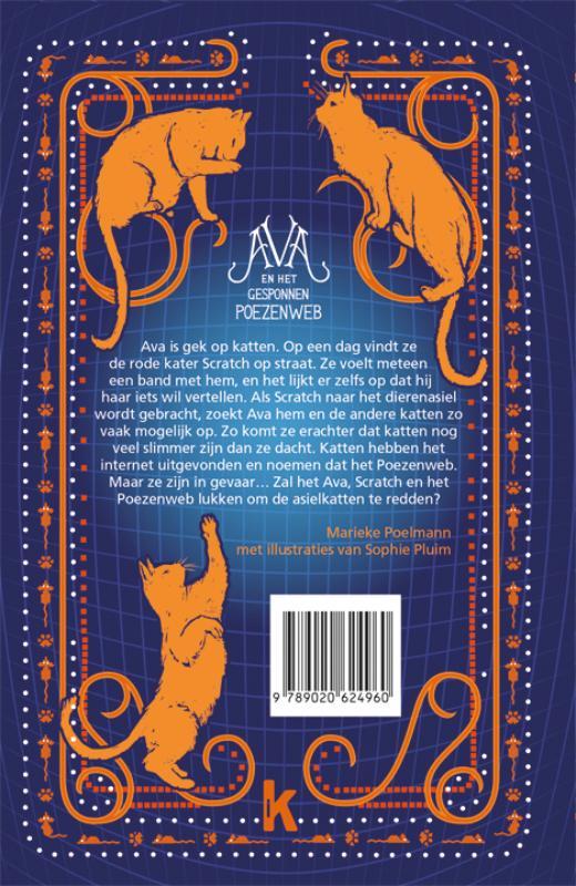 Marieke Poelmann,Ava en het gesponnen poezenweb