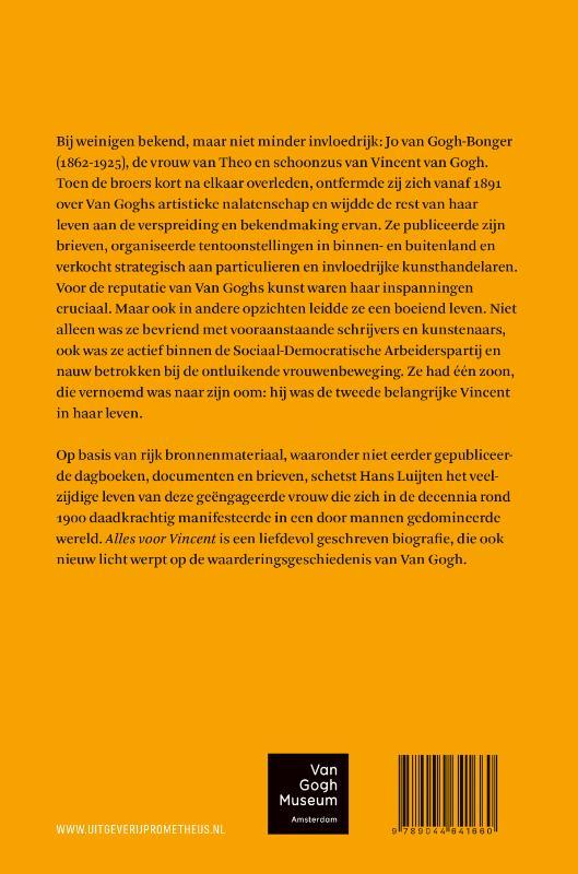 Hans Luijten,Alles voor Vincent