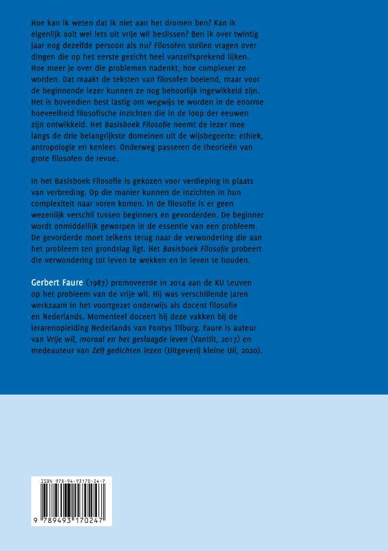 Gerbert Faure,Basisboek Filosofie
