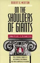 Robert K. Merton On the Shoulders of Giants