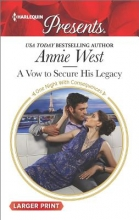 West, Annie A Vow to Secure His Legacy