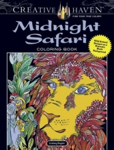 Boylan, Lindsey Creative Haven Midnight Safari Coloring Book