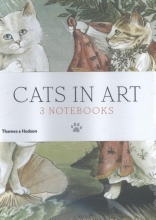 Herbert, Susan Cats in Art: Set of 3 A6 Notebooks